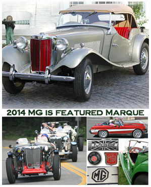 MG 2014 Featured Marque of Grand Prix Festival of Watkins Glen